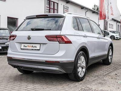 gebraucht VW Tiguan HIGHLINE 2.0TSI DSG ACTIVE INFO AHK NAVI