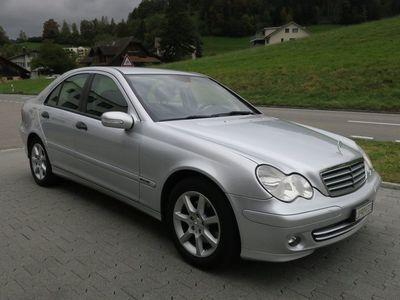 gebraucht Mercedes C230 C-KlasseLimusine Automat, ab MFK 7.2020