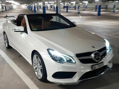 gebraucht Mercedes E400 E-Klasse CABRIO Mercedes333PS, WEISS, VOLLGAR.MSI PLUS
