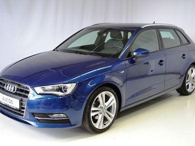 gebraucht Audi A3 Sportback S-LINE 2.0TDI XENON 18'ALU NAVI-VB