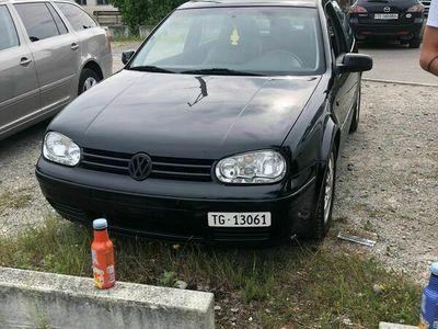 gebraucht VW Golf IV 1.8 T GTI 20 V Turbo 153'000 KN
