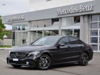gebraucht Mercedes C220 C-Klasse W205d AMG Line 4matic
