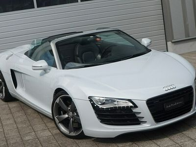 gebraucht Audi R8 Spyder 4.2 S-Tronic - PEARL WHITE COLOR