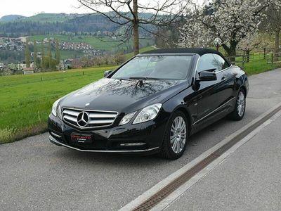 gebraucht Mercedes E250 E-KlasseCGI BlueEfficiency Automatic (Cabriolet)