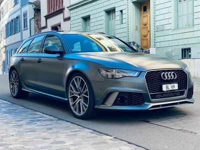 gebraucht Audi RS6 S6 / RS6Performance 605PS 1. Hand CH-Fahrzeug