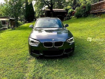 gebraucht BMW 120 XDrive M Sportpaket Metallic Grau