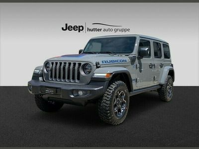 gebraucht Jeep Wrangler 2.0 Turbo Rubicon Unlimited 4xe