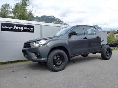 gebraucht Toyota HiLux Hilux TOP-Angebot:2.4D Comfort Chassis