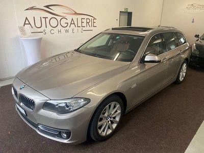 gebraucht BMW 520 d Touring xDrive Luxury Line Steptro