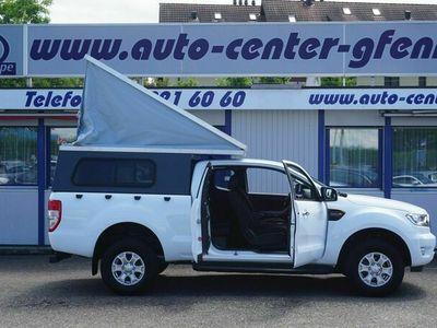 gebraucht Ford Ranger XLT 2.0 Eco Blue 4x4 A 170PS mit Campingkabine (einfacher Eigenbau)