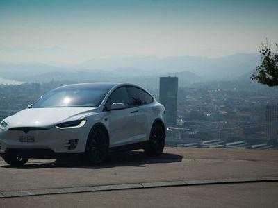 gebraucht Tesla Model X 100D Performance mit gratis Supercharging
