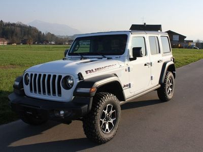 gebraucht Jeep Wrangler 2.0 Unlimited Rubicon Automatic MY2020 ***Hard - und Softtop***