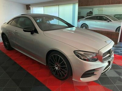 gebraucht Mercedes E200 E-Klasse E 200 Coupé AMG Line 4 Matic 9G-Tronic E-KlasseCoupé AMG Line 4 Matic 9G-Tronic