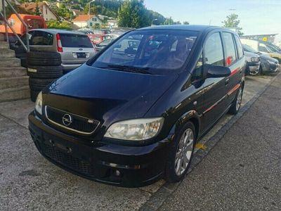 gebraucht Opel Zafira 2.0i Turbo OPC