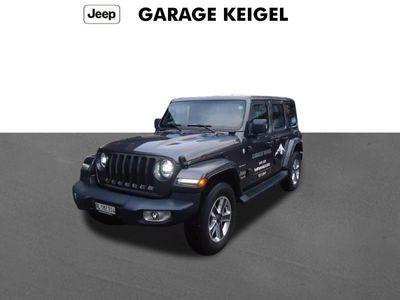 gebraucht Jeep Wrangler 2.2 Sahara - Neu CHF 73´100.-