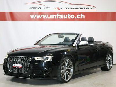 gebraucht Audi RS5 Cabriolet 4.2 V8 FSI quattro S-Troni