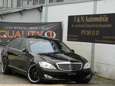 gebraucht Mercedes S500L S-Klasse Mercedes/ 2006 / 2012t km / Einzigartig!
