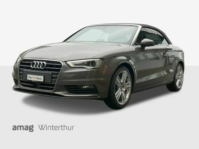 gebraucht Audi A3 Cabriolet 1.4 TFSI Ambition S-tronic