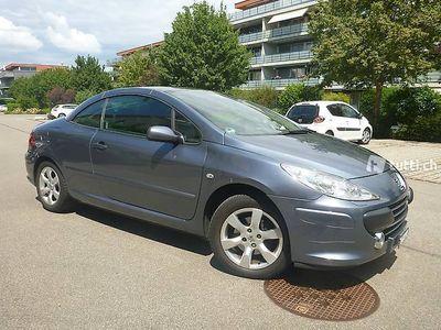 gebraucht Peugeot 307 CC 2.0i Platinium Edition Automatik