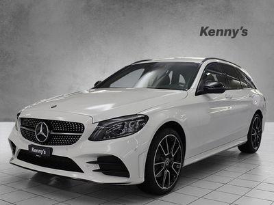gebraucht Mercedes C200 Swiss Star AMG Line 4m Kombi