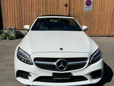 gebraucht Mercedes C200 C-Klasse MercedesCabrio AMG Line