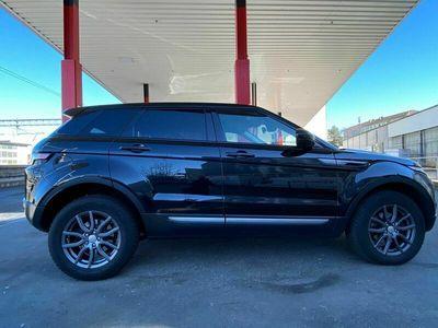 gebraucht Land Rover Range Rover evoque schwarz