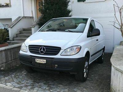 gebraucht Mercedes Vito Vito Mercedes Vito 111CDI 4x4 Automat frisch MFK Vito Mercedes111CDI 4x4 Automat frisch MFK