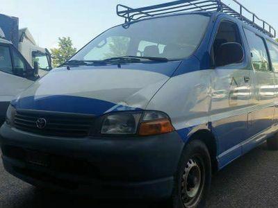 gebraucht Toyota HiAce Hiace Hi-aceD-4D LWB Van