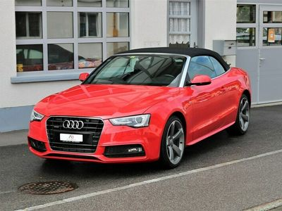 gebraucht Audi A5 Cabriolet 2.0 TFSI quattro S-tronic S-Line