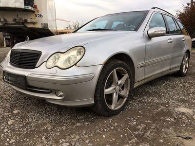 gebraucht Mercedes C270 C-Klasse Mercedes BenzCDI,Jg 2002,B03