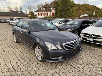 gebraucht Mercedes E350 CGI BlueEff. Avantgarde 4Ma...