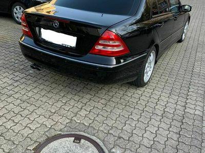 gebraucht Mercedes C32 AMG C-Klasse Mercedes C32 AMG Kompressor mit Mfk C-Klasse MercedesAMG Kompressor mit Mfk