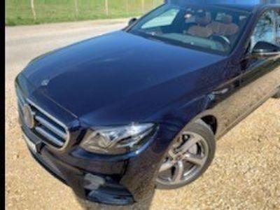 gebraucht Mercedes E220 Swiss Star AMG Line 4Matic 9G-Tronic