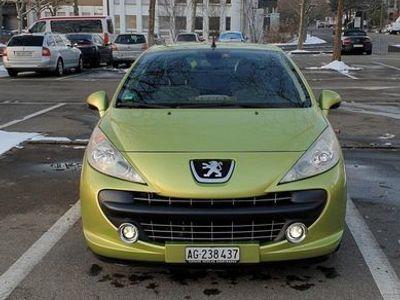 gebraucht Peugeot 207 CC 1.6i 16V