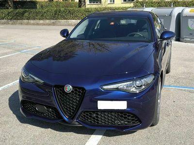 gebraucht Alfa Romeo Giulia 2.2 Veloce Q4 Diesel 209 CV Blu met.