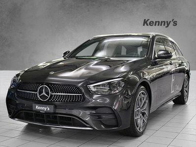 gebraucht Mercedes E400 AMG Line 4Matic Kombi
