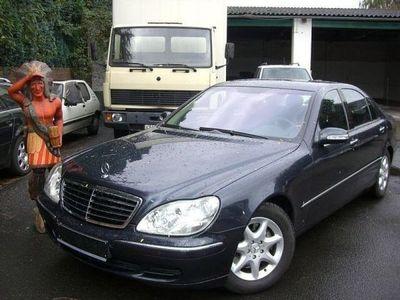 gebraucht Mercedes S500L orig. 54.900 km XENON COMAND SERVOSCHL