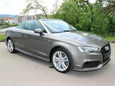 gebraucht Audi A3 Cabriolet 1.8 TFSI Ambition quattro S-tronic S line