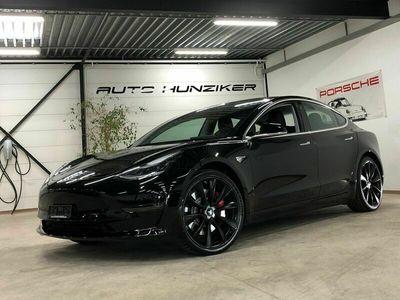 gebraucht Tesla Model 3 Black-White Performance Autopilot mit FSD