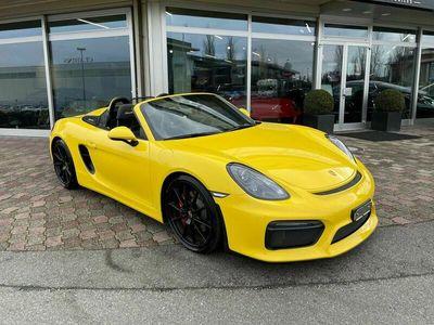 gebraucht Porsche Boxster Spyder 3.8