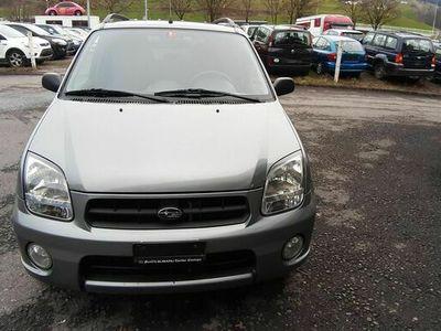 gebraucht Subaru Justy  G3X1.5 AWD Blue-/Silver-Special