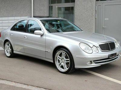 gebraucht Mercedes E500 E-KlasseAvantgarde 4Matic Automatic