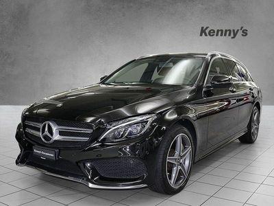 gebraucht Mercedes C250 C-Klassed Swiss Star AMG Line 4Matic Kombi
