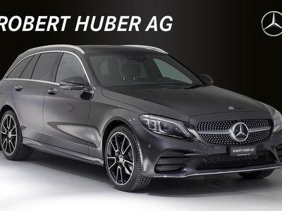 gebraucht Mercedes C200 C-KlasseAMG Line 4Matic 9G-Tronic