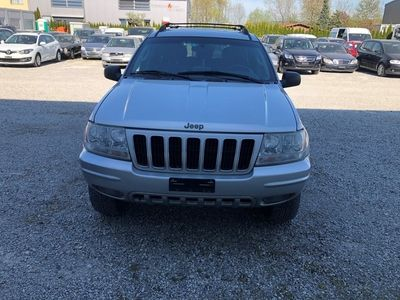 gebraucht Jeep Grand Cherokee 2.7 CRD Limited Navigation Aut.