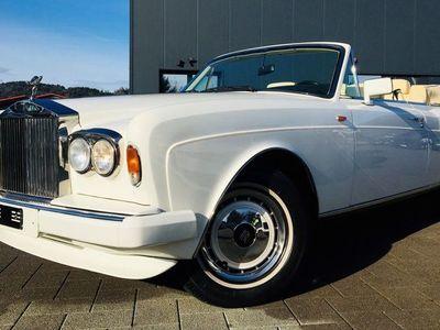 gebraucht Rolls Royce Corniche Corniche Cabriolet ROLLS-ROYCEIII 21'300 km 09.1991