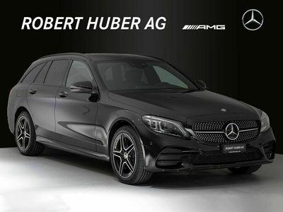 gebraucht Mercedes C220 C-Klassed AMG Line 4Matic 9G-Tronic