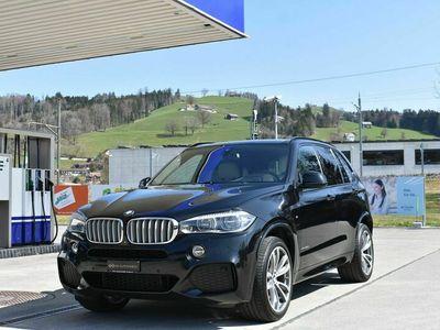 gebraucht BMW X5 xDrive 40d Steptronic *CH-Fahrzeug**M-Paket**Vollleder**Surround-kamera**Navi*