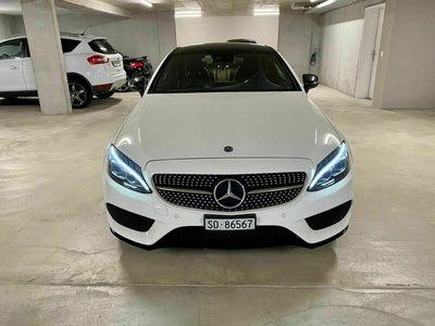 gebraucht Mercedes C250 Coupé AMG Line 9G-tronic