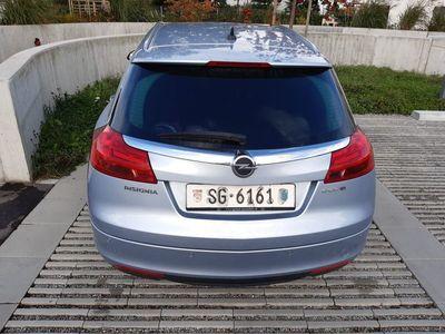 gebraucht Opel Insignia Insigna 1,4 kombi 10.2012 silber met.